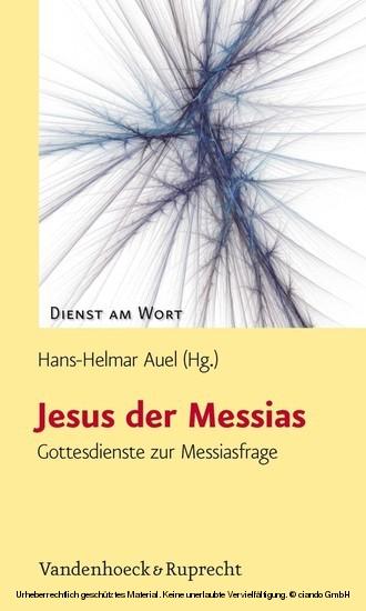 Jesus der Messias - Blick ins Buch