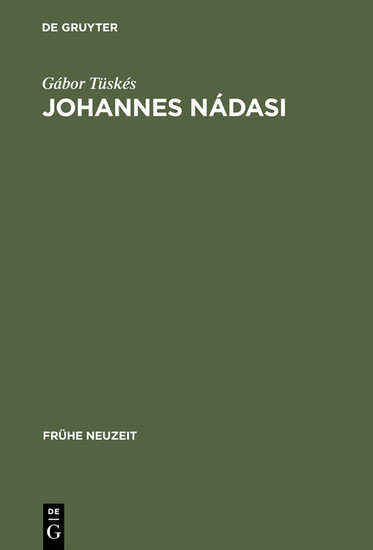 Johannes Nádasi - Blick ins Buch