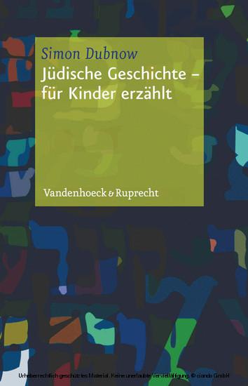 Jüdische Geschichte - Blick ins Buch