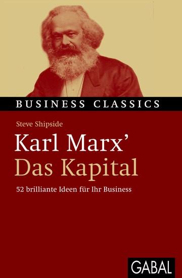 Karl Marx' 'Das Kapital' - Blick ins Buch