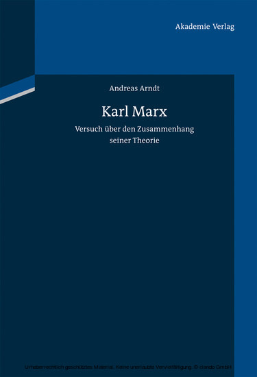 Karl Marx - Blick ins Buch