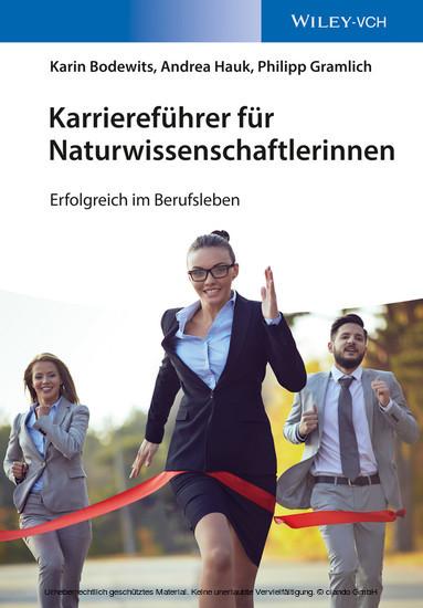 Karrierefhrer fr Naturwissenschaftlerinnen - Blick ins Buch