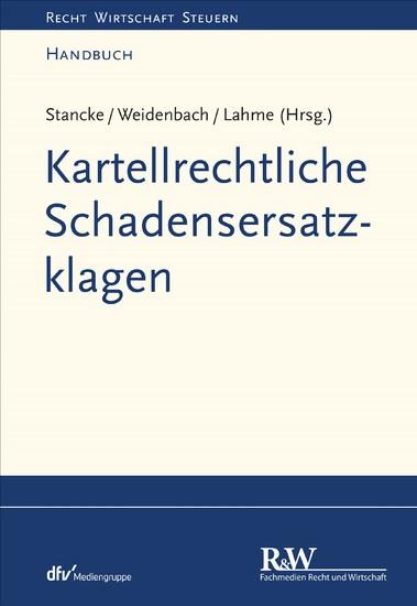 Kartellrechtliche Schadensersatzklagen - Blick ins Buch