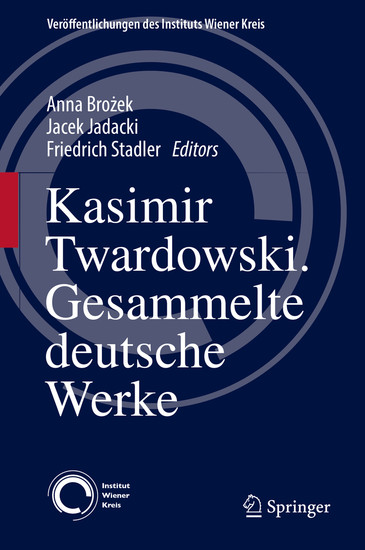 Kasimir Twardowski - Blick ins Buch
