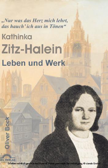 Kathinka Zitz-Halein - Leben und Werk - Blick ins Buch