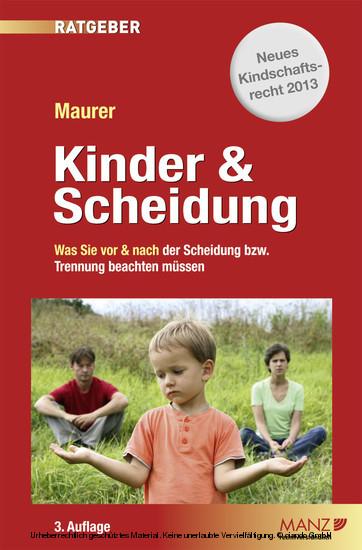Kinder & Scheidung - Blick ins Buch