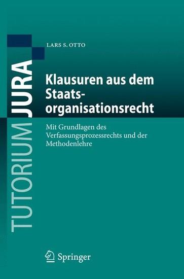 Klausuren aus dem Staatsorganisationsrecht - Blick ins Buch