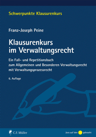 Klausurenkurs im Verwaltungsrecht - Blick ins Buch