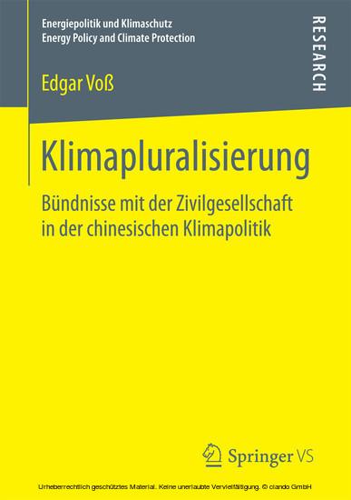 Klimapluralisierung - Blick ins Buch