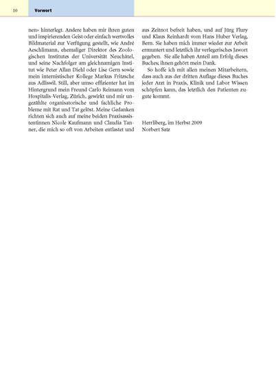Klinik der Lyme-Borreliose - Blick ins Buch