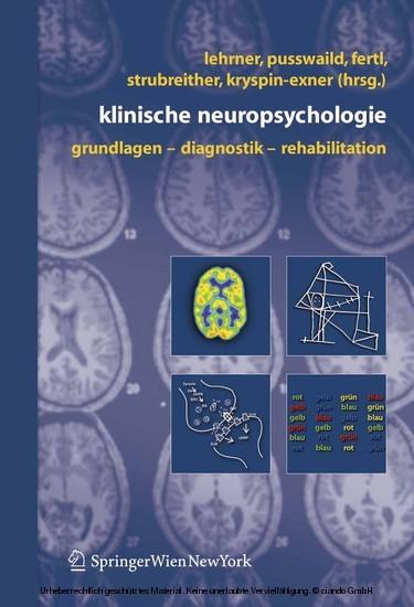 Klinische Neuropsychologie - Blick ins Buch