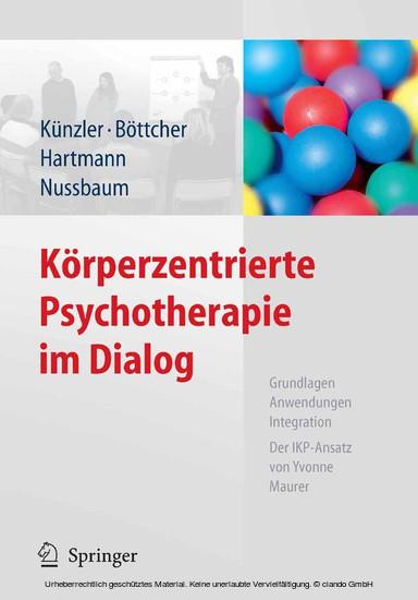 Körperzentrierte Psychotherapie im Dialog - Blick ins Buch