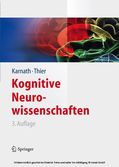Kognitive Neurowissenschaften - Blick ins Buch