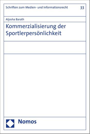 Kommerzialisierung der Sportlerpersönlichkeit - Blick ins Buch