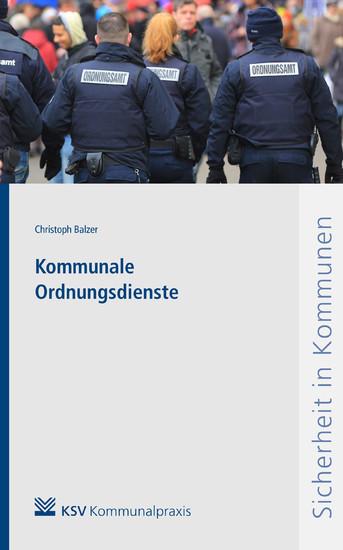 Kommunale Ordnungsdienste - Blick ins Buch