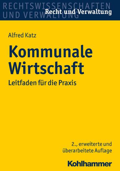 Kommunale Wirtschaft - Blick ins Buch