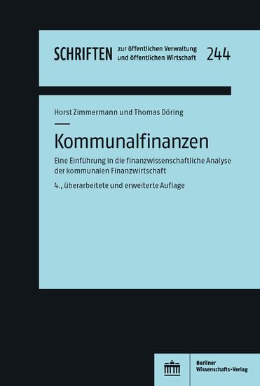 Kommunalfinanzen - Blick ins Buch