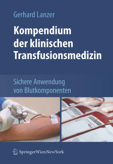 Kompendium der klinischen Transfusionsmedizin - Blick ins Buch