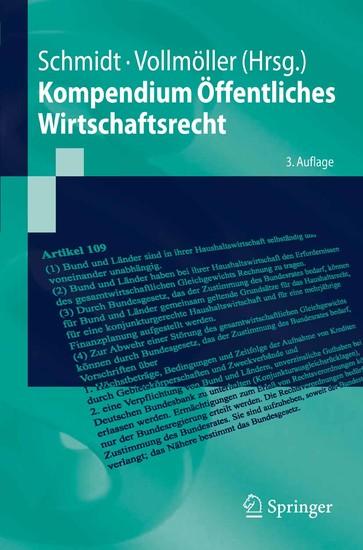 Kompendium Öffentliches Wirtschaftsrecht - Blick ins Buch