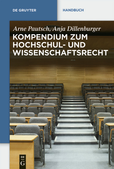 Kompendium zum Hochschul- und Wissenschaftsrecht - Blick ins Buch