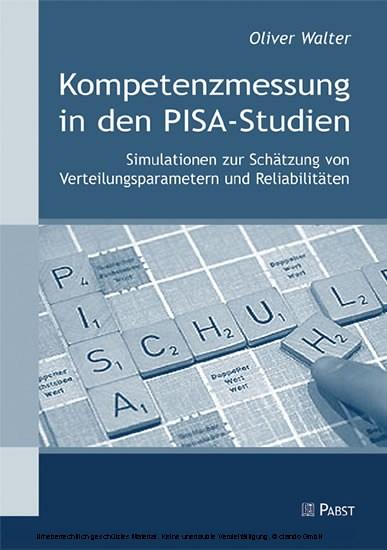 Kompetenzmessung in den PISA-Studien - Blick ins Buch