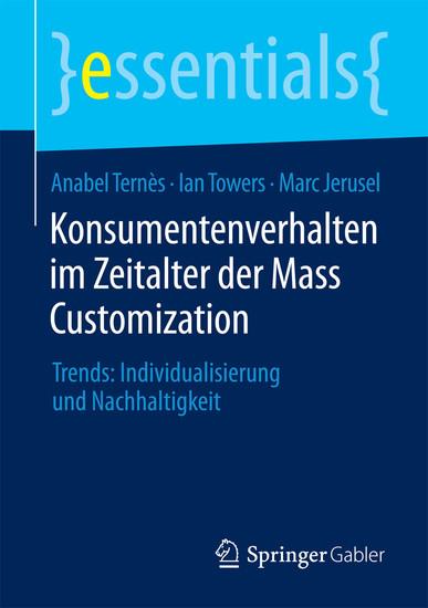 Konsumentenverhalten im Zeitalter der Mass Customization - Blick ins Buch