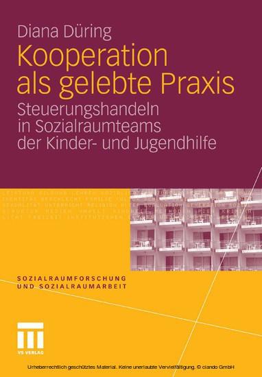 Kooperation als gelebte Praxis - Blick ins Buch