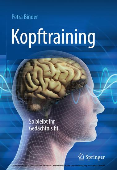 Kopftraining - Blick ins Buch