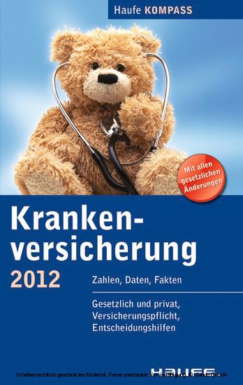 Krankenversicherung - Blick ins Buch