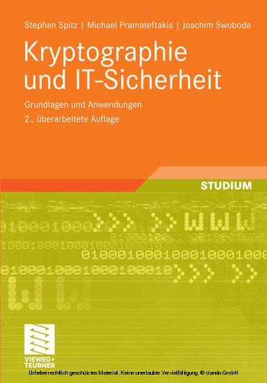 Kryptographie und IT-Sicherheit - Blick ins Buch