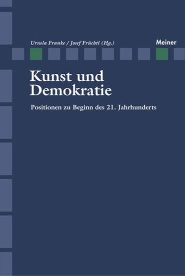 Kunst und Demokratie - Blick ins Buch
