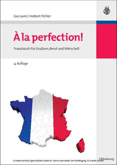 A la perfection! - Blick ins Buch