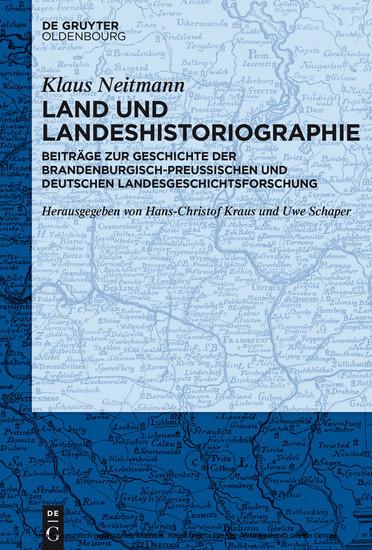 Land und Landeshistoriographie - Blick ins Buch