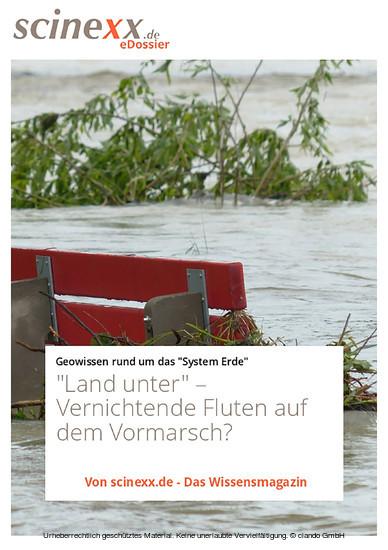 'Land unter' - Blick ins Buch