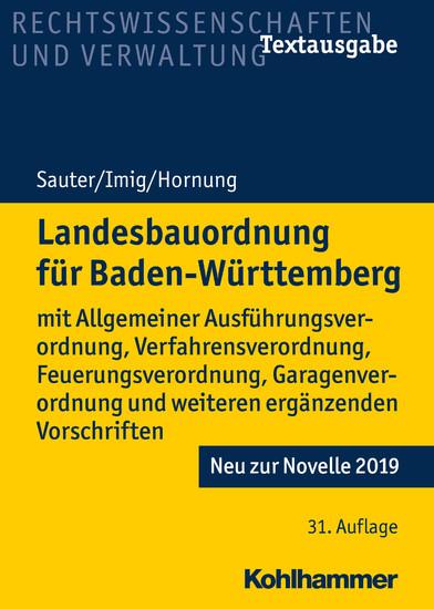 Landesbauordnung für Baden-Württemberg - Blick ins Buch