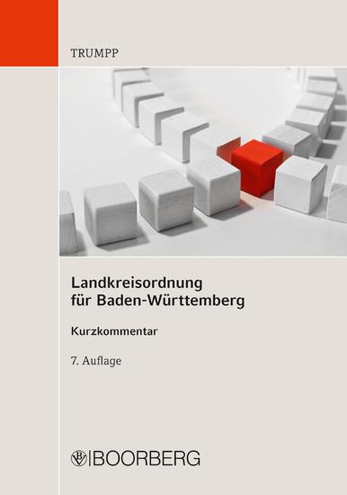 Landkreisordnung für Baden-Württemberg - Blick ins Buch