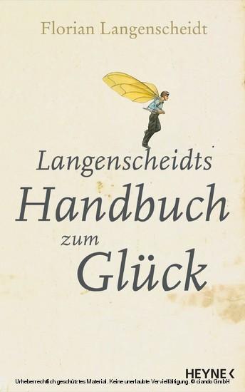 Langenscheidts Handbuch zum Glück - Blick ins Buch