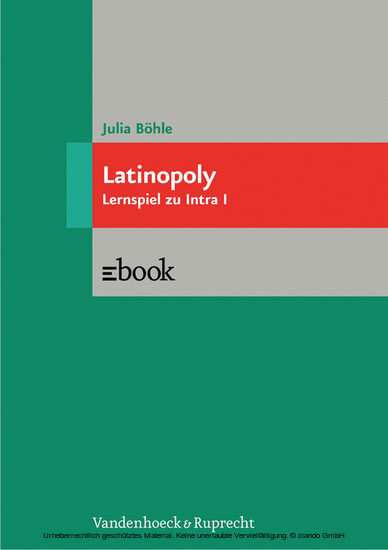 Latinopoly - Blick ins Buch