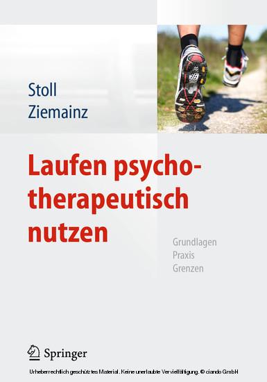 Laufen psychotherapeutisch nutzen - Blick ins Buch