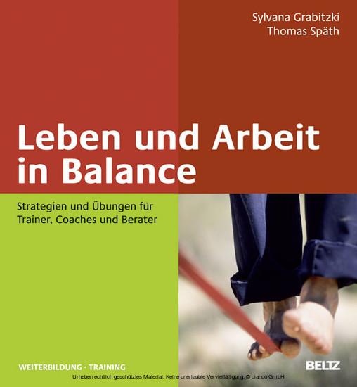 Leben und Arbeit in Balance - Blick ins Buch