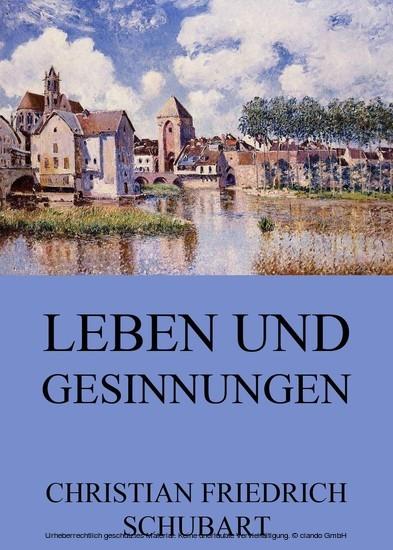 Leben und Gesinnungen - Blick ins Buch