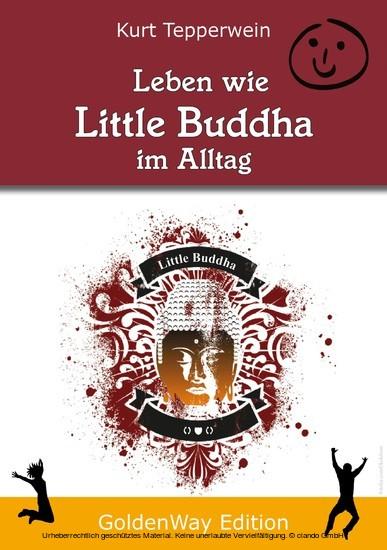 Leben wie Little Buddha im Alltag - Blick ins Buch