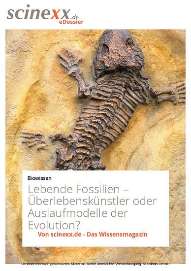 Lebende Fossilien - Blick ins Buch