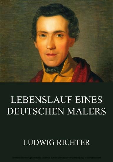 Lebenslauf eines deutschen Malers - Blick ins Buch