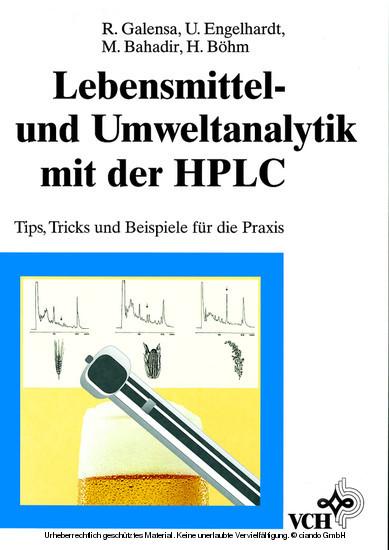 Lebensmittel- und Umweltanalytik mit der HPLC - Blick ins Buch