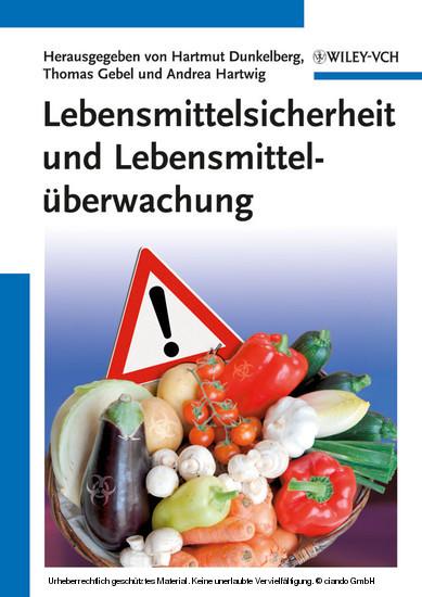 Lebensmittelsicherheit und Lebensmittelüberwachung - Blick ins Buch