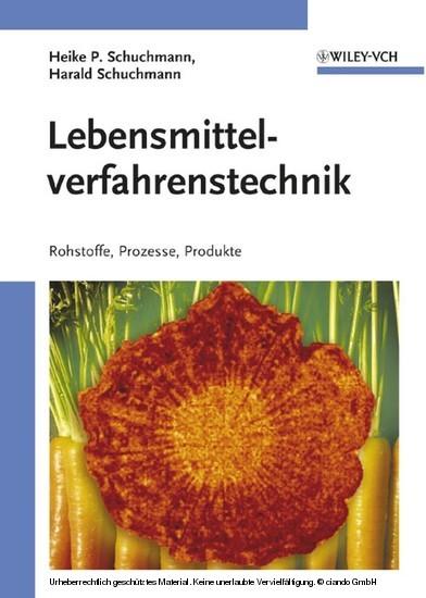 Lebensmittelverfahrenstechnik - Blick ins Buch