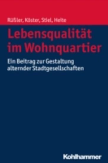 Lebensqualität im Wohnquartier - Blick ins Buch