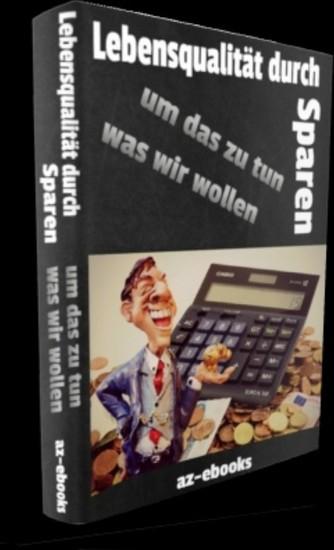 Lebensqualität durch Sparen - Blick ins Buch