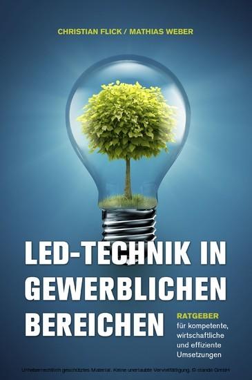 LED-Technik in gewerblichen Bereichen - Blick ins Buch